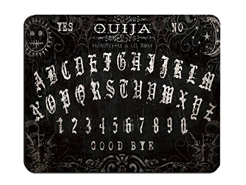 Computer Non-Slip Rubber Mouse Pad with Ouija board theme for girls