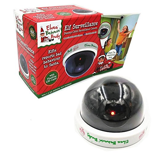 Elf Surveillance Santa Camera - Dummy CCTV Camera