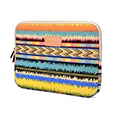 Varylala Canvas Sleeve Case Bag Cover for 13-inch Laptop/MacBook/MacBook Pro/MacBook Air (Music Note Pattern, 13 inch)