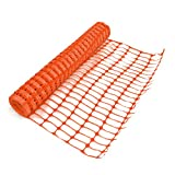 Rollo de valla de malla plástica de True Products B1003A, mediana, 5,5 kg, 1 x 50 m, color naranja (1 unidad)
