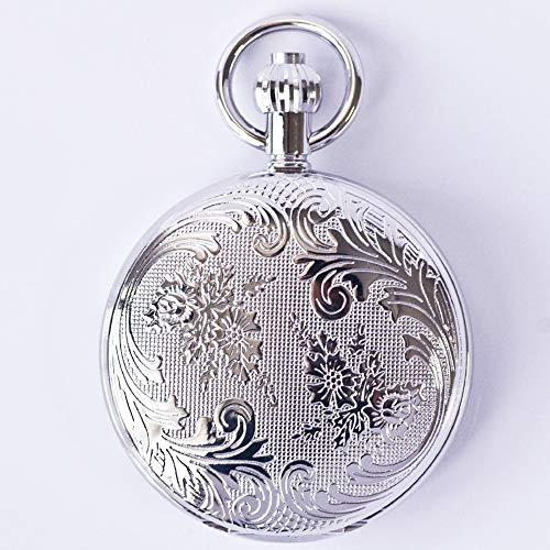 MC-BLL-Pocket Watch Metall Kupfer Secret Garden automatische mechanische Taschenuhr Old Shanghai Männer und Frauen Vintage Clamshell Dicke: 13mm Durchmesser: 48mm