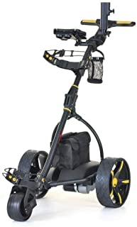 Sponsored Ad – Caddymatic V2 Electric Golf Troley/Cart with Upgraded 18 Hole Battery with Auto-Distance Functionality, Tra...