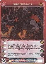 Chaotic SKORBLUST Super Rare FOIL Creature-Past Underworld Elementalist Card S11/026 (Random Stats)