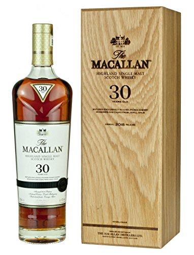 7. Macallan - Sherry Oak Speyside Malt Blue Label