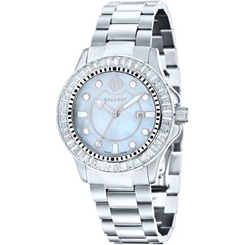 Ballast Damen Edelstahl Uhr Vanguard Ladies