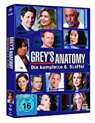 Grey's Anatomy – Staffel 6 (DVD)