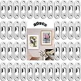 Sujetadores Para Marcos De Fotos 40 Piezas Cierres De Perchas Sujetadores De Imagen Sujetadores De Perchas Colgador De Sujetadores Para Marcos De Cuadros Armarios Con Espejo Metal Multicolor