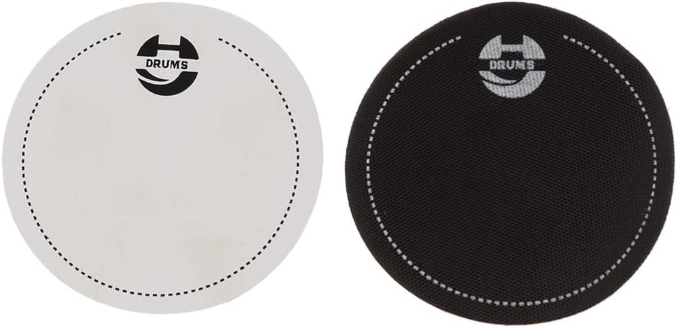 Nobranded 2pcs Ranking TOP2 Single Max 76% OFF Double Drum Head Percus Pads for Protector