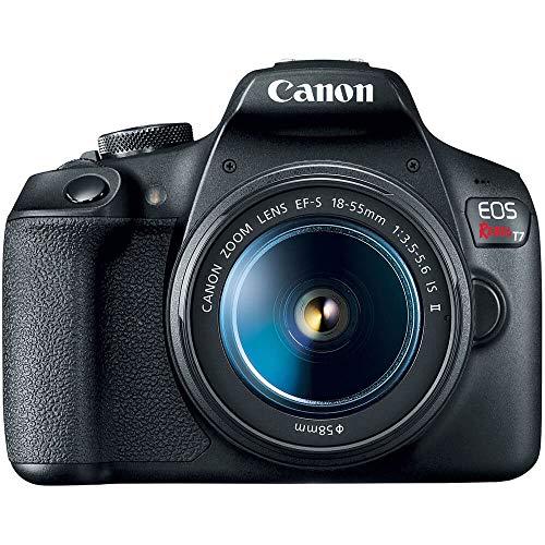 Câmera Canon EOS Rebel T7+ EF-S 18-55 f/3.5-5.6 IS II BR