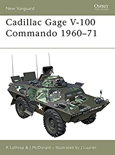Cadillac Gage V-100 Commando 1960–71 (New Vanguard)