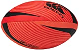 Canterbury Ballon de Rugby Thrillseeker de Nouvelle-Zélande, Unisexe, Orange/Rouge/Noir, Taille 5