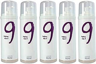 【5本セット】 リアル化学 ルシケア スタイリングミルク9 135g 【ハード】