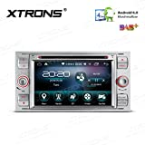 XTRONS 7 pulgadas Android 6.0 Quad Core 16 G ROM HD Digital MultiTouch pantalla coche estéreo GPS Radio DVD Player OBD2 DVR para Ford S-Max Focus II