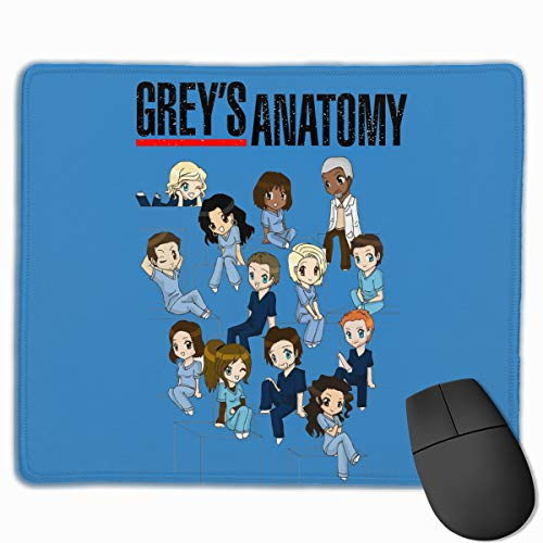 ABIGAIL PICKERING Grey's Anatomy Mouse Pad Laptop Gaming Home Office Computer Accessories Rectangle Non-Slip Rubber Mousepad