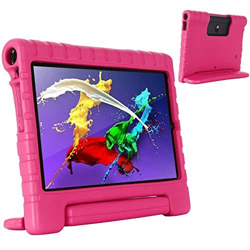 RZL PAD & TAB cases For Lenovo Yoga Smart Tab 5 Tab5 10.1 Inch YT-X705F, Case Kids Shockproof EVA Safe Protable Case Handle Stand Cover For Lenovo Yoga Smart Tab 5 Tab5 10.1 Inch (Color : Rose)