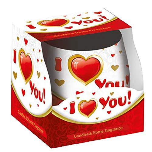 Velas San Valentín (1 I Love You)