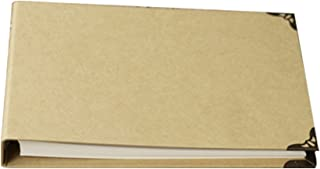 Forusky 160 Pages 29x20.5 cm Kraft Hardcover Scrapbook DIY Photo Album, Wedding Guest Book, Anniversary Book for Fuji Instax Mini, Wide 300, Wide 210 Films