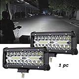PR Fog Light/Led bar/Work Light White 120 Watts 1pc Universal Fitting Bikes