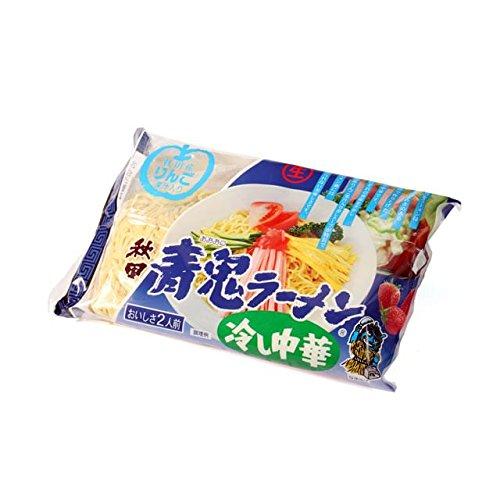 八郎めん 生・秋田 青鬼ラーメン 冷し中華 2食 袋入