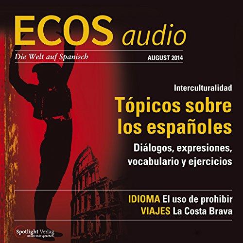 ECOS audio - Tópicos sobre los espanõles. 8/2014 Titelbild