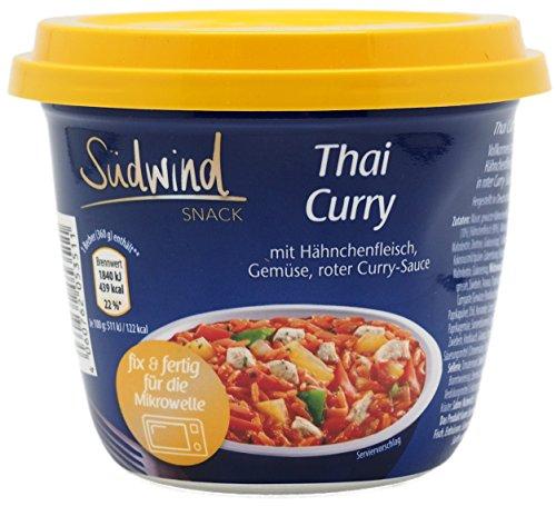 Thai Curry - Fertiggericht für die Mikrowelle / Wasserbad - Südwind Lebensmittel