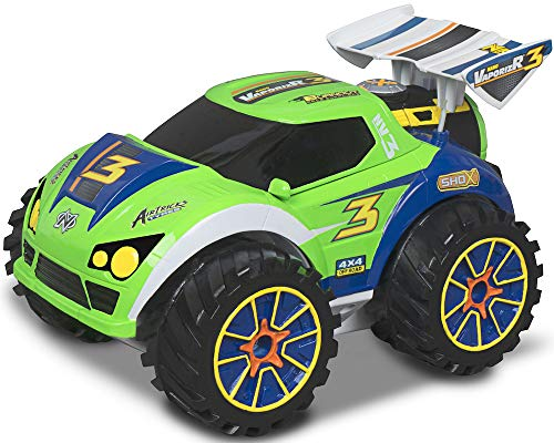 Nikko - Nano VaporizR 3 - Steuerbares Auto - Ferngesteuertes Auto - RC Auto für Kinder - Wasserdicht - 14 x 20 x 13 cm - Neongrün
