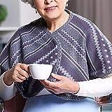 YUXINCAI Chal Engrosado para El Cuidado De Sillas De Ruedas, Chal Versátil Multiusos Hombro Cálido Familia para Mujer Invierno Uso En Clima Frío