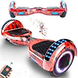 RangerBoard Hoverboard Enfant - 6,5' - Bluetooth - LED - Self Balancing Board Adulte - 700W - Smart...