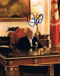 donald sutherland autograph