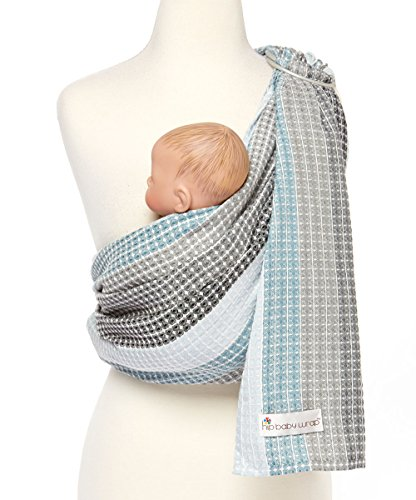 Hip Baby Wrap Ring Sling Baby Carrier for Infants and Toddlers Moon Honeycomb