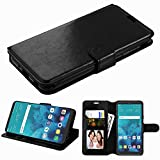 Wydan Case for LG Stylo 6 - PU Leather Credit Card Slot Wallet Hybrid Stand Feature Cover