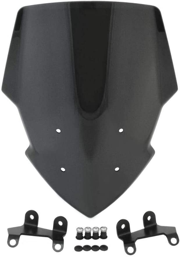 PUHEB Motorcycle Cash special price Windshield Front Max 54% OFF Windshie Windscreen