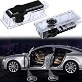 Welcome Light For Land Rover Car Door Lights HD LED Car lights for Door Car Ground Lights for Land Rover Range Rover Discovery 4 Evoque Freelander Plug and Play 5W 2-pack