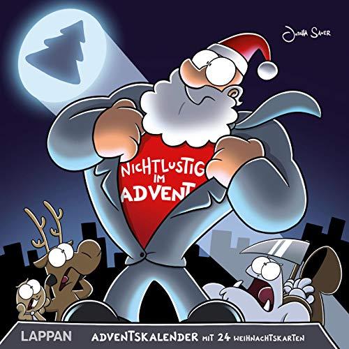 Nichtlustig im Advent: 24 Cartoon-Weihnachtskarten!