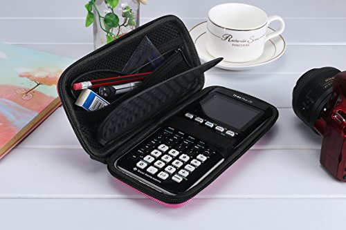 Esimen Carrying Case for Graphing Calculator Texas Instruments TI-84/Plus CE Hard EVA Shockproof Carrying Case Storage Travel Case Bag Protective Pouch Box -Extra Room for Pen and Accessory Photo #2