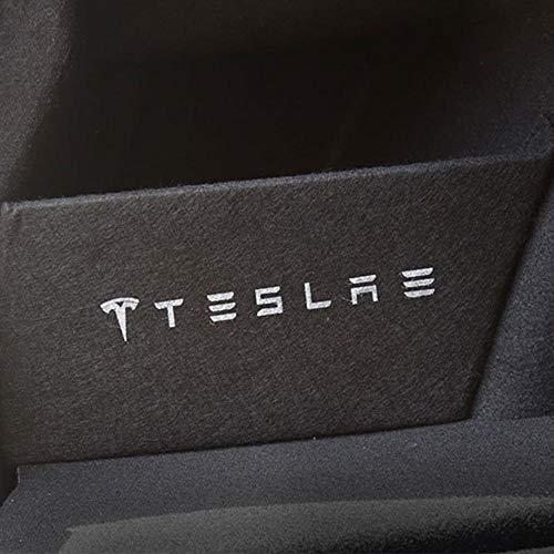 Volwco Kofferraum-Aufbewahrung Blende für Tesla Model 3/s/x, Kofferraum-Organizer, Kofferraum-Trennwand, Zubehör zur Änderung der Kofferraum-Blende