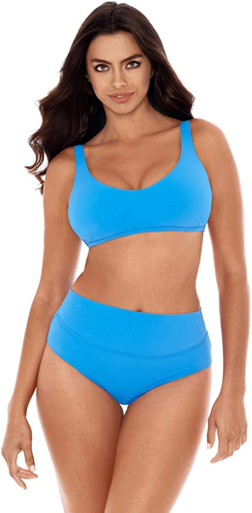 Skinny Reservation Dippers New item Women's Swimwear Dream Control Fit Basic Tummy Ba
