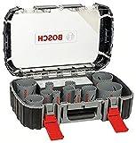 Bosch Professional 2608580887 Sierras de Corona Bimetálicas, 400 W, Set de 17 Piezas
