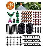 STLOVE Kit de Riego por Goteo 149 PCS Sistema de Riego de Jardín...