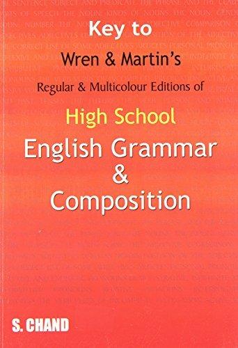 Key to High School English Grammar and Composition (English Edition)