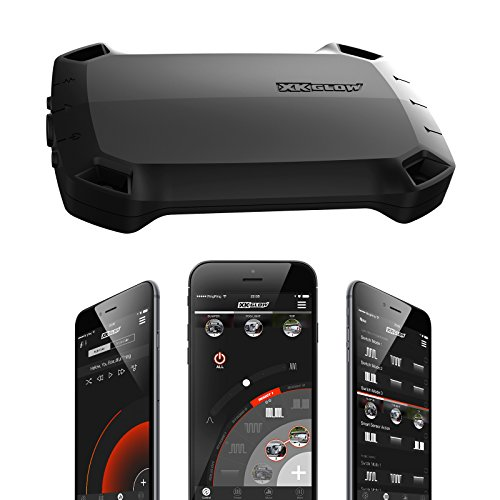 XK Titan High Power LED Light Smartphone Controller for LED Light bar Offroad 4x4 Emergency Law Enforcement Construction Truck app Bluetooth Strobe Controller