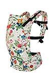 Baby Tula Rosy Posy Free-to-Grow - Riñonera ajustable para recién nacidos, ergonómica, con varias posiciones para 3,2 - 20,4 kg