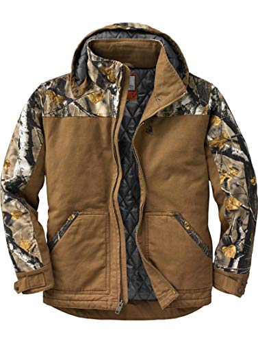 Legendary Whitetails Canvas Cross Trail Workwear Jacket Barley Large