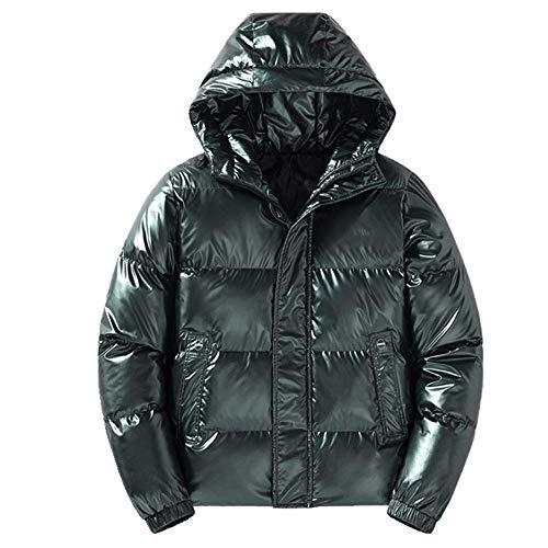 Invierno abajo acolchado chaqueta hombres y mujeres parejas corto grueso acolchado chaqueta casual deportes pan chaqueta