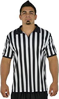 Mato & Hash Mens Referee Shirts/Umpire Jersey with Collar for Officiating + Costumes + More!