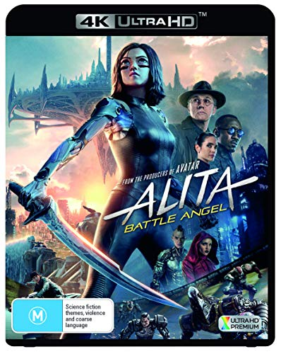 Alita: Battle Angel 4K UHD Blu-ray | Jennifer Connelly | NON-USA Format | Region B Import - Australia