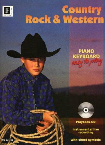 Country Rock + Western. Klavier, Keyboard