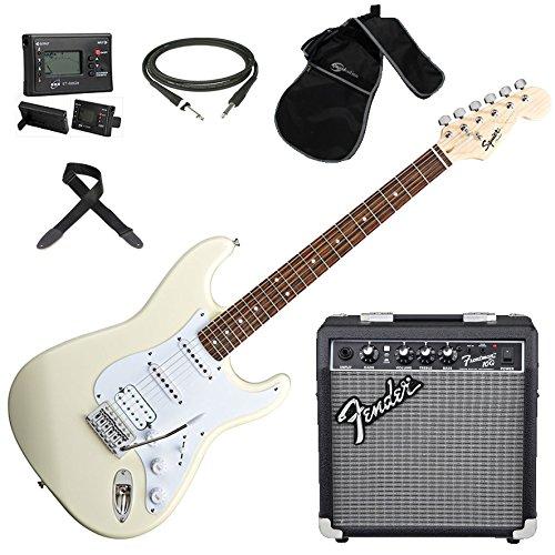FENDER Squier Stratocaster BULLET ATW chitarra elettrica + Amplificatore + Borsa + Accordatore + Tracolla + Plettri