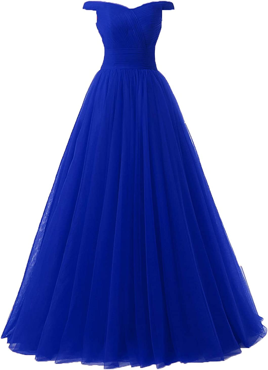 Nina Women's A-Line Tulle Prom Formal Evening Homecoming Dress Ball Gown