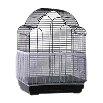 BELTRY Housse de Cage à Oiseaux en Nylon Doux Facile à Nettoyer pour Cage à Oiseaux